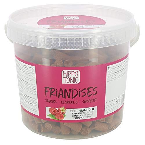 Hippo-Tonic - Bonbons pour Chevaux goût Framboise - Framboise, 3kg