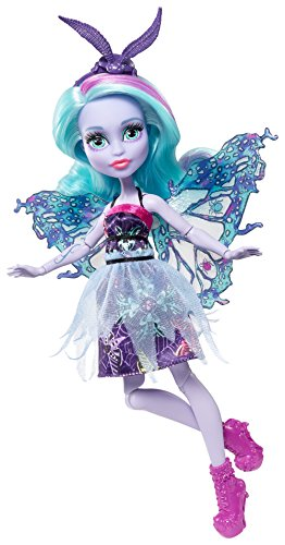 Monster High, bambola Wingrid, con ali, creatura fantastica, FCV48