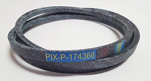 Pix 174368, 532174368repuesto cinturón hecho con Kevlar Cables a especificaciones FSP. Para Craftsman, Poulan, Husqvarna, Wizard, más.