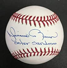 Mariano Rivera Autographed Signed Official MLB Ball Auto Inscribed Enter Sandman PSA/DNA