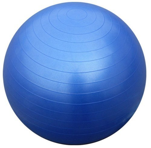 MOFRED 65CM ANTI BURST GYM EXERCISE SWISS YOGA PHYSIOTHERAPY FITNESS CORE BALL PREGNANCY BIRTHING WITH EASY INFALTION AIR PUMP