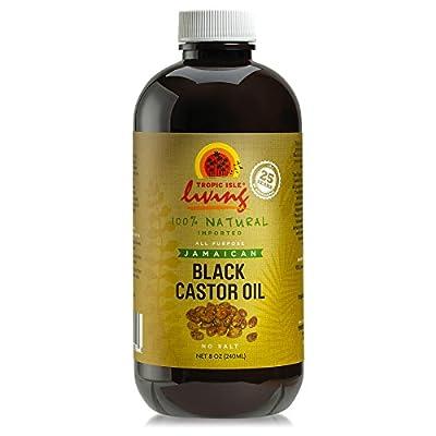 Tropic Isle Living Jamaican Black Castor Oil, 8 oz
