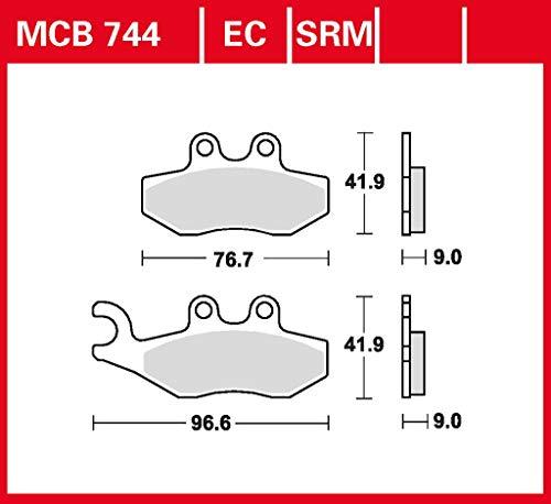 Bremsbelag TRW organisch für Roller, Scooter, Offroad Variant Sport 50 SBA - 2 Takt 12-18 vorne