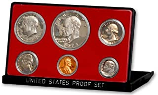 1973 S US 6 Piece Proof Set In original packaging from mint Proof