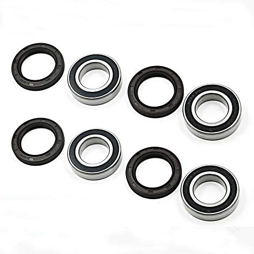 Replacement for Yamaha Front Wheel Bearings and Seals Kits 04-13 Rhino 450 660 700