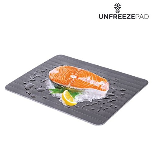 Appetitissime Unfreeze Pad Placa Descongeladora de Alimentos, Aluminio,...