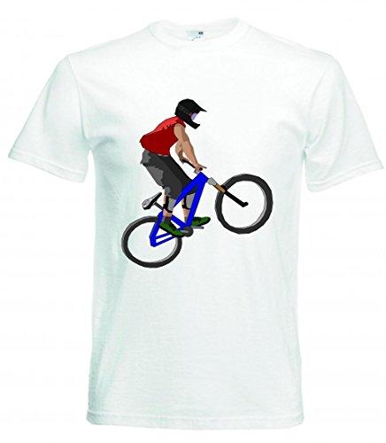 Camiseta de Ciclismo de Salto Deportivo, Bicicleta, Aventura, Anillos de Spinning, conducción,...