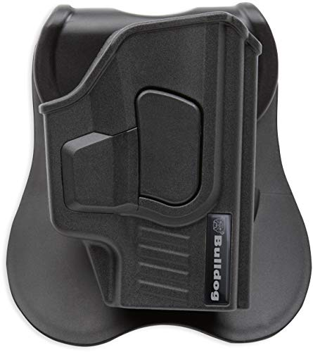 Bulldog Cases Rapid Release Polymer Holsters with Paddle- Fits Sig Sauer P365, Black, One Size (RR-S365)