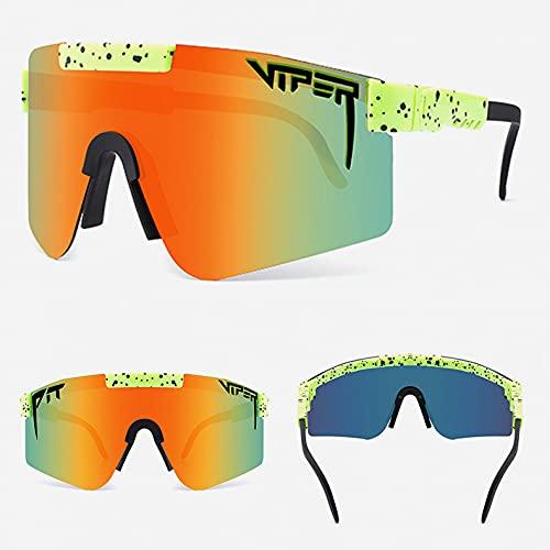 Gafas De Sol, Gafas De Montar Polarizadas para Hombres Y Mujeres, Gafas De Sol Polarizadas De Película Real De Galvanoplastia De Colores Grandes Enmarcados-c13