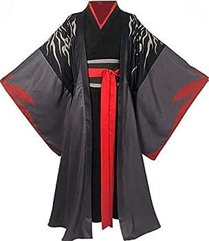 Nsoking Anime Grandmaster Demonic Cultivation Cosplay Mo Dao Zu Shi Wei Wuxian Cosplay Jiang Cheng Costume Hanfu  XXX-Large Mens