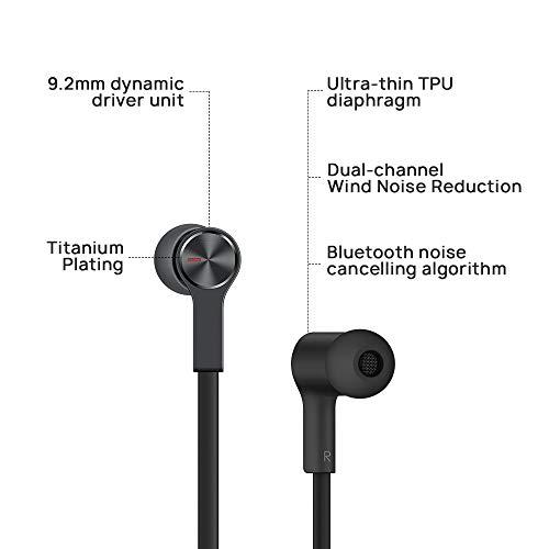Huawei FreeLace ultraleichtes Bluetooth Headset 'CM70-C' mit HiPair, Schwarz - 2