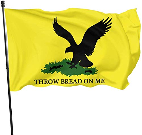 'N/A' Throw Bread On Me Flag 3x5 Ft Outdoor Polyester Flag