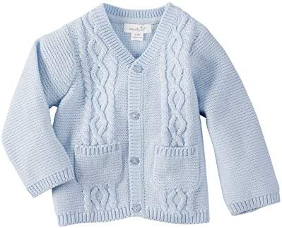 Mud Pie Boys Baby Cardigan Blue 3 6 Months product image
