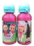 ML Una Botella de Agua de Aluminio, cantimplora térmica a Prueba de Fugas sin BPA para Levar a la Escuela y Deportes el Termo 400ml para niños y niñas (Rosa)