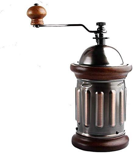 TEHWDE Huishoudelijke Handmatige Grinder Koffiemachine Koffiebonen Grinder Draagbare Retro Grinder Perfect Voor Vers Gemalen Koffiebonen Huis, Kantoor en Reizen