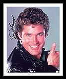 FP David Hasselhoff - Knight Rider Autogramme Signiert Und Gerahmt Foto