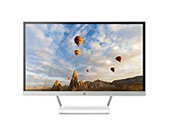 HP Pavilion 27-inch FHD IPS white Monitor with LED Backlight