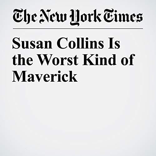 Susan Collins Is the Worst Kind of Maverick copertina
