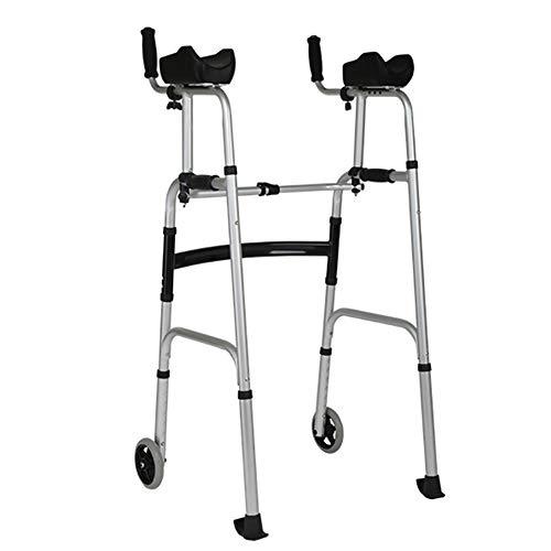 JPVGIA Caminante de Cuatro Patas, Peso Ligero, extremidad Inferior, Entrenamiento, Adulto Mayor, Andador, Andador de Aluminio para el hogar