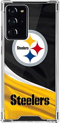 Skinit Clear Phone Case Compatible with Galaxy Note 20 Ultra 5G Officially Licensed NFL Pittsburgh product image