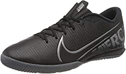 Nike Unisex-Erwachsene Vapor 13 Academy Ic Futsalschuhe, Mehrfarbig (Black/MTLC Cool Grey-Cool Grey 1), 43 EU