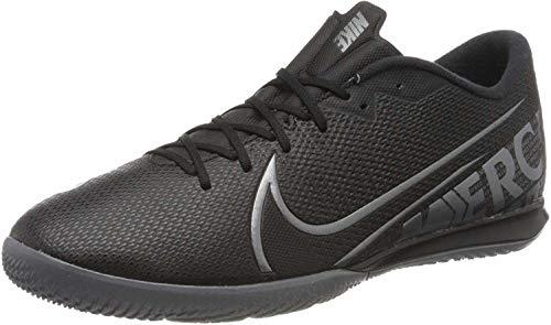 Nike Unisex-Erwachsene Vapor 13 Academy Ic Futsalschuhe, Mehrfarbig (Black/MTLC Cool Grey-Cool Grey 1), 42 EU