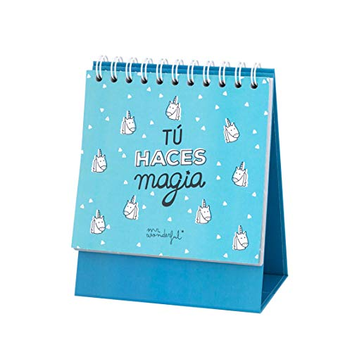 Mr; Wonderful Woa09057Es Organizador Semanal De Sobremesa Tú Haces Magia