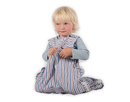 Merino Kids slaapzak van organisch katoen voor kinderen 2-4 jaar