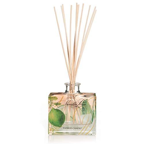 Yankee Candle Signature Reed Aroma Diffuser, Vanilla Lime, 88ml, hält bis zu 8Wochen