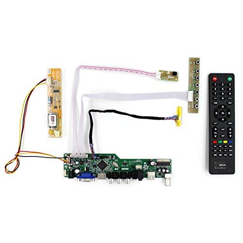 HDM I + VGA + AV + USB + RF Input LCD Controller Board für LTN141AT01 B154EW01 35,4 cm 1280 x 800 1CCFL 30 Pins LCD Panel