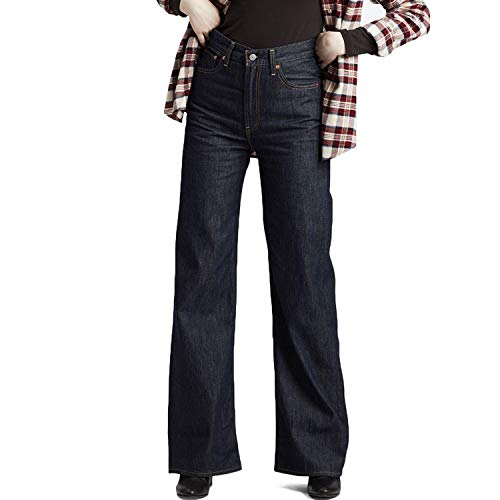 Levi's Women's Ribcage Wide Leg Jeans - High and Mighty - W28/L32