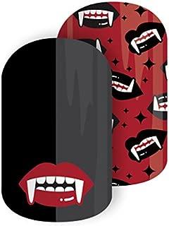 Jamberry Nail Wraps ~ Vamp Queen ~ Half Sheet ~ Halloween Vampire