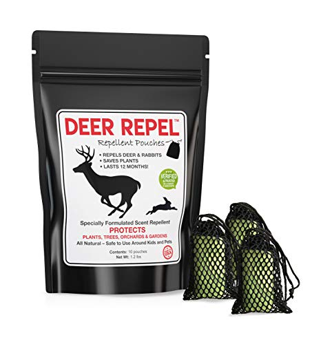 Deer Repel Deer Repellent Plants Pouches Stop Deer Rabbits Eating Plants Trees Gardens