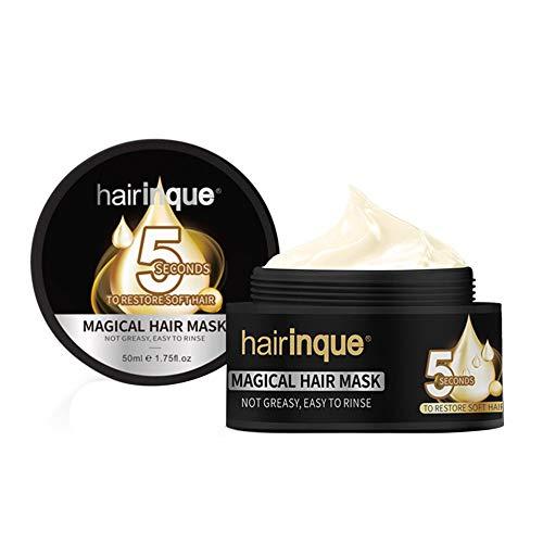 IBISHITAOXUNBAIHUOD Profundo reparar el cabello Mascarilla Acondicionador nutricional mejora la voladura del cabello Hair Repair Mask Productos para el cabello
