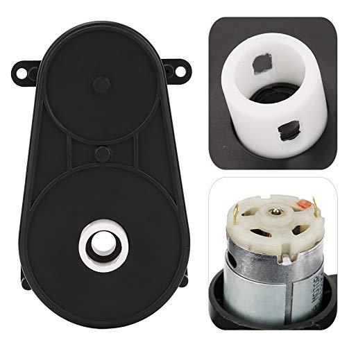 Caixa de engrenagens do carro infantil, caixa de engrenagens do motor elétrico, durável, estável e resistente ao desgaste para carros elétricos infantis, peça de reposição de baixo ruído(12V, 5000Rpm)