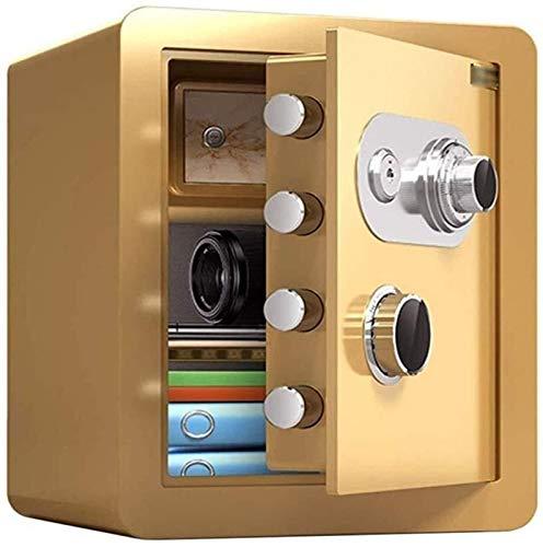 SMLZV Cajas fuertes, Caja de seguridad de la contraseña mecánica del gabinete de caja fuerte, caja fuerte del hogar, 45 cm grande impermeable impermeable anti-taladrado anti-robo seguro seguro