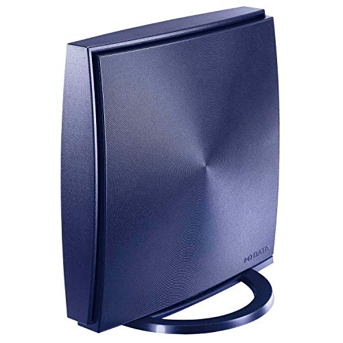 I-O DATA WiFi 無線LAN ルーター ac2000 1733+300Mbps IPv6 フィルタリング デュアルバンド 3階建/4LDK/返金保証 WN-AX2033GR2/E