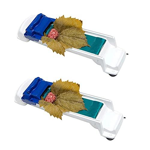 Rodillo de carne vegetal - 2 piezas de rodillo de hojas de vid, máquina Sarma, herramienta para enrollar carne, máquina para enrollar hojas, para picnic, cocina, herramienta para enrollar, enrolladora