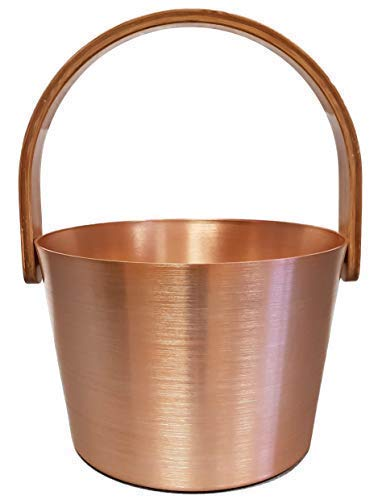 Sudorewell Sauna Pail Goud-Rosé Aluminium met handvat + gratis ijskristallen