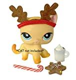 Pet Shop Accessories LPS Christmas Clothes Lot Reindeer Product Name