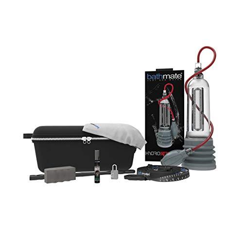 2. Bomba de agua para agrandar pene Bathmate Hydromax X50 Xtreme Clear - Patentado