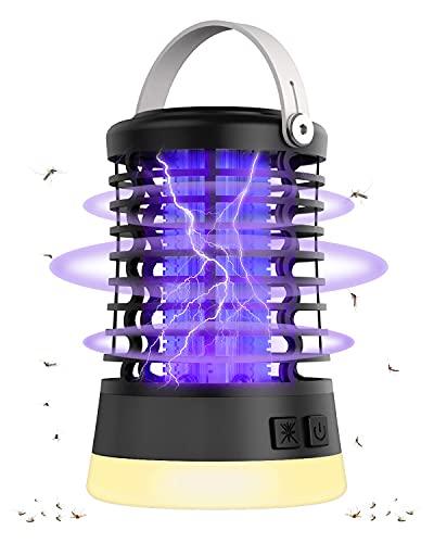 TFORT Insektenvernichter Mückenschutz Elektrischer Fliegenfalle - Wasserdichter IPX6 Mückenfalle...