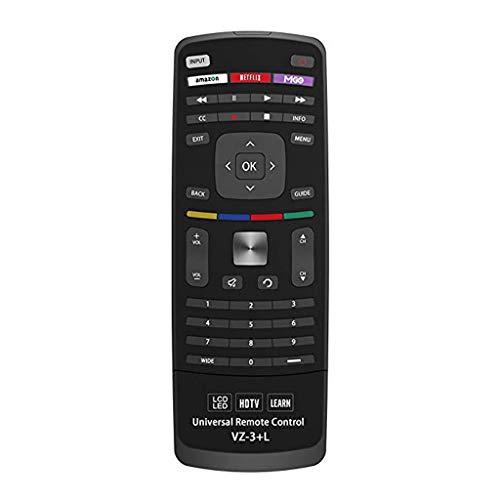 Yue668 Neu für Vizio Universal-Fernbedienung für alle VIZIO Smart TV-Geräte (Schwarz)