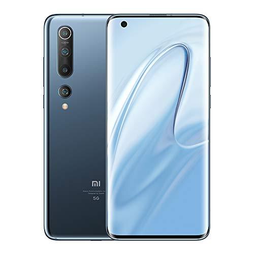 """Xiaomi Mi 10 8GB 128GB Smartphone 5G Qualcomm Snapdragon 865 Procesador de 8 núcleos 108MP AI Quad Camera 6.67"""" Pantalla Teléfono móvil"""
