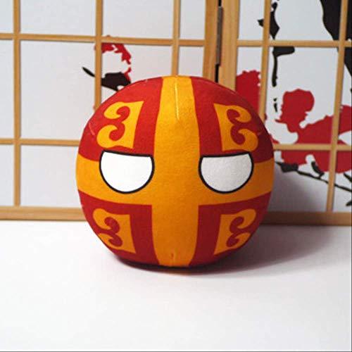N\A Polandball Plüschtiere Anime Countryball Kurze Plüschpuppe Mini Kissen Cosplay Für Geschenk 9CM