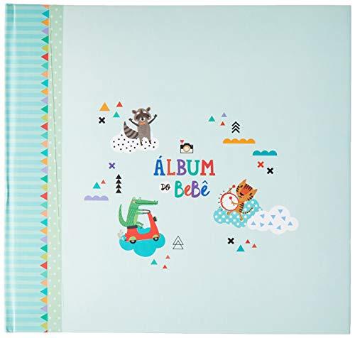 Álbum do Bebê Bichinhos Verde Colore, Coloré, Verde