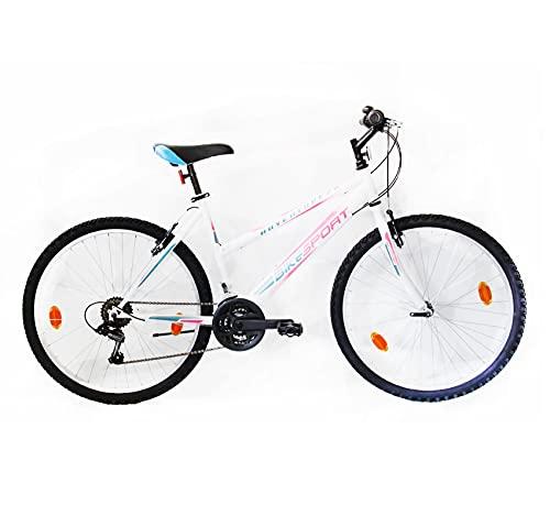 Bikesport ADVENTURE Bicicletta Donna Mountainbike 26' (Rosa Gloss)