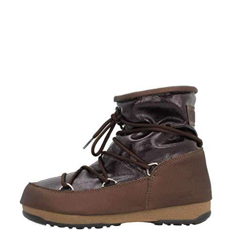 Bottines - Boots, color Marron , marca MOON BOOT, modelo Bottines - Boots MOON BOOT W.E. LOW GLITTER Marron