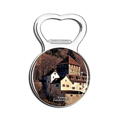 Weekino Vaduz Castle Liechtenstein Kühlschrankmagnet Bier Flaschenöffner Stadt Reise Souvenir Sammlung Starker Kühlschrankaufkleber
