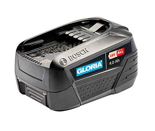 GLORIA 18 v 4.0 Ah BOSCH Akku - Power for all, Home and Garden Linie (für MultiJet 18V, WeedBrush li-on, MultiBrush li-on)